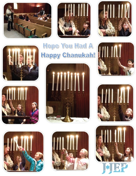 Wednesday Hebrew School Candle Lighting